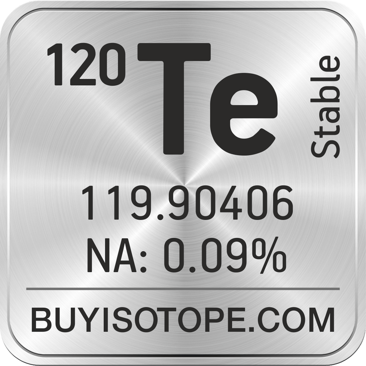 Common isotopes